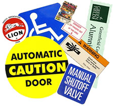 StreetSmart Warning Decals by Go Plastics