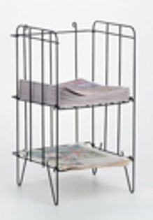 StreetSmart Wire Tabloid Rack by Go Plastics